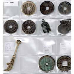 QING:LOT of 10 charms and amulets