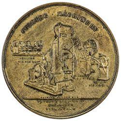 CHINA: AE advertising medal, ND (ca. 1900). PCGS AU58