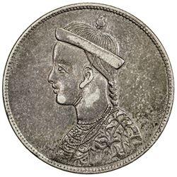 TIBET: AR rupee (11.41g), Chengdu mint, ND (1902-11). PCGS AU55