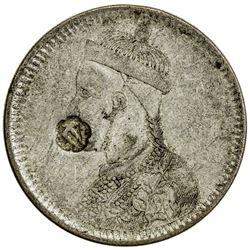 TIBET: AR rupee (11.42g), Kangding mint, ND (1939-42). PCGS VF35