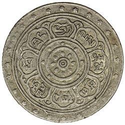 TIBET: Xuan Tong, 1909-1911, AR srang (18.93g), year 1 (1909). PCGS EF40