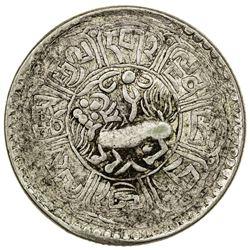 TIBET: AR 5 sho (8.87g), Dode mint, year 15-59 (1925). PCGS EF40