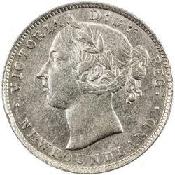 NEWFOUNDLAND: Victoria, 1837-1901, AR 20 cents, 1894. ICCS EF45