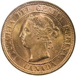 CANADA: Victoria, 1837-1901, AE cent, 1900-H. ICCS MS66