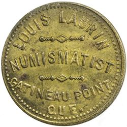 CANADA: brass token, ND. ICCS MS60