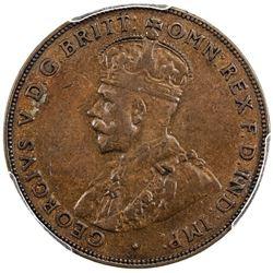 AUSTRALIA: George V, 1910-1936, AE penny, 1930(m). PCGS VF35