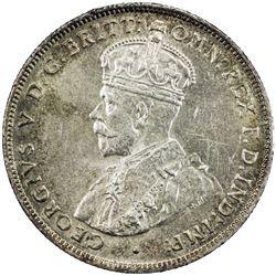 AUSTRALIA: George V, 1910-1936, AR florin, 1931(m). AU