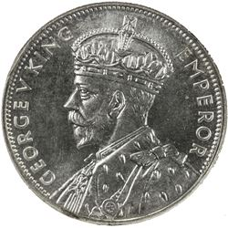 AUSTRALIA: George V, 1910-1936, AR florin, 1934-35. NGC MS64