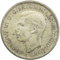 AUSTRALIA: George VI, 1937-1952, AR crown, 1938(m). AU