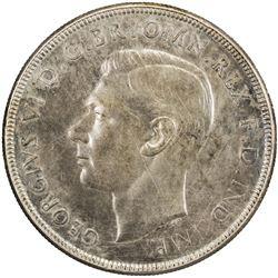 AUSTRALIA: George VI, 1937-1952, AR crown, 1938(m). EF