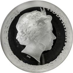 AUSTRALIA: Elizabeth II, 1952-, AR 5 dollars, 2012-P. NGC PF70
