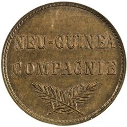 GERMAN NEW GUINEA: Wilhelm II, 1888-1914, AE 1 pfennig, 1894-A. NGC MS62
