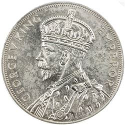 NEW ZEALAND: George V, 1910-1936, AR crown, 1935. PCGS MS62
