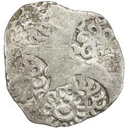 KASHI: Punchmarked, ca. 525-465 BC, AR vimshatika (4.56g). VF