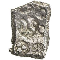 SHAKYA: Punchmarked, ca. 600-500 BC, AR double karshapana (6.87g). EF