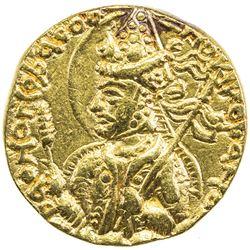 KUSHAN: Huvishka, ca. 155-187, AV dinar (7.79g). EF