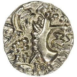 KIDARITE: Vinayaditya, 5th century, debased AV dinar (7.70g). EF