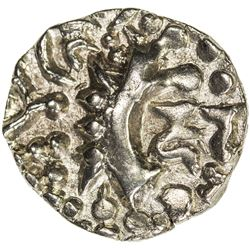 KIDARITE: Vinayaditya, 5th century, debased AV dinar (7.90g). VF-EF