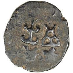 TAXILA: AE unit (11.21g), ca. 200-150 BC. VF