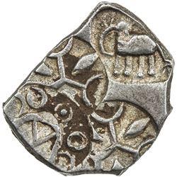 VIDARBHA: Punchmarked, ca. 500-400 BC, AR 1/2 karshapana (1.66g). EF