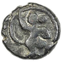 VIJAYANAGAR: Bukka I, 1357-1377, AE cash (3.47g). F-VF