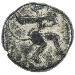 VIJAYANAGAR: Bukka I, 1357-1377, AE cash (3.55g). F