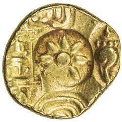 YADAVAS OF DEVAGIRI: Ramachandra, 1270-1311, AV pagoda (3.81g). EF