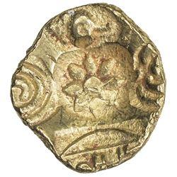 YADAVAS OF DEVAGIRI: Ramachandra, 1270-1311, AV asu (padmatanka) (3.83g). EF