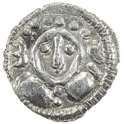 SIND: Uncertain ruler, 7th/8th century, AR damma (0.49g). VF-EF