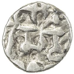 AMIRS OF MULTAN: Fahad, 10th century, AR damma (0.50g), NM, ND. VF