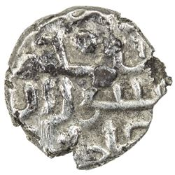 AMIRS OF MULTAN: Mansur b. 'Ali, AR damma (0.33g), NM, ND. VF