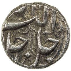 MUGHAL: Akbar I, 1556-1605, AR 1/4 rupee (2.72g), Lahore, IE47. VF