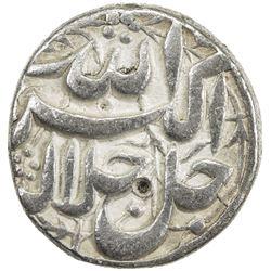 MUGHAL: Akbar I, 1556-1605, AR 1/2 rupee (5.55g), Lahore, IE39 (1594-5). VF
