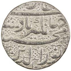 MUGHAL: Jahangir, 1605-1628, AR jahangiri rupee (13.64g), Ahmadabad, AH1015 year 1. EF