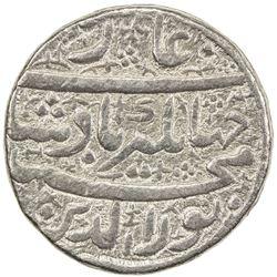 MUGHAL: Jahangir, 1605-1628, AR jahangiri rupee (13.66g), Ahmadabad, AH1014 year 1. VF