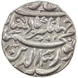 MUGHAL: Jahangir, 1605-1628, AR jahangiri rupee (13.63g), Tatta, AH1016 year 3. VF-EF