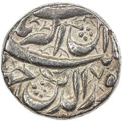 MUGHAL: Jahangir, 1605-1628, AR jahangiri rupee (13.63g), Qandahar, AH1021 year 7. VF