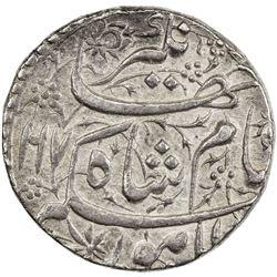 MUGHAL: Jahangir, 1605-1628, AR sawai rupee (14.22g), Lahore, AH1017 year 4. AU