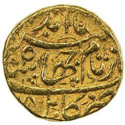 MUGHAL: Jahangir, 1605-1628, AV mohur (10.88g), Kabul, year 18. VF