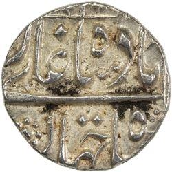 MUGHAL: Shah Jahan I, 1628-1658, AR 1/4 rupee (2.83g), MM, AH1065 year 29. EF