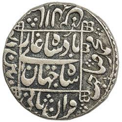 MUGHAL: Shah Jahan I, 1628-1658, AR rupee (11.46g), Pattan Deo, AH1047 year 10. VF