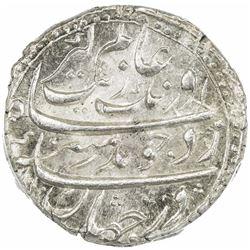 MUGHAL: Aurangzeb, 1658-1707, AR rupee, Burhanpur, AH1102 year 35. PCGS MS64