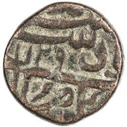 MUGHAL: Farrukhsiyar, 1713-1719, AE dam (19.51g), Elichpur, AH1129 year 6. VF