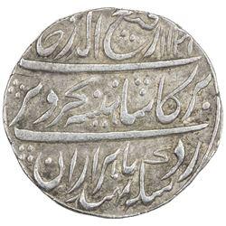 MUGHAL: Rafi-ud-Darjat, 1719, AR rupee (11.33g), Gwalior, AH1131 year one (ahad). EF