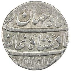 MUGHAL: Shah Jahan II, 1719, AR rupee (11.41g), Lahore, AH1131 year one (ahad). VF
