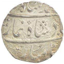MUGHAL: Muhammad Shah, 1719-1748, AR rupee, Ahmadabad, year 14. PCGS MS62