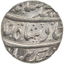 MUGHAL: Muhammad Shah, 1719-1748, AR rupee, Muhammadabad Banaras, AH11xx year 30. NGC MS64