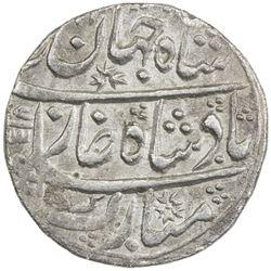 MUGHAL: Shah Jahan III, 1759-1760, AR rupee (11.08g), Maha Indrapur (= Dig), year one (ahad). EF