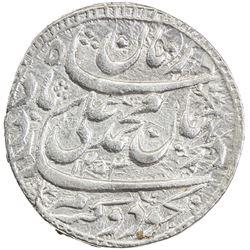 AWADH: Muhammad Ali Shah, 1837-1842, AR rupee (11.16g), Lucknow, AH1253 year one (ahad). EF