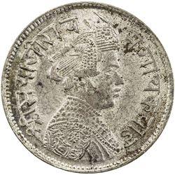 BARODA: Sayaji Rao III, 1875-1938, AR rupee (11.45g), VS1955. AU